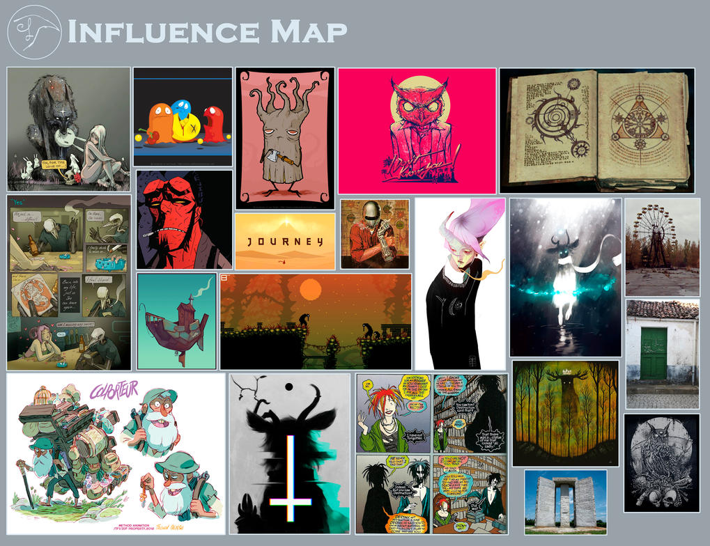Influence Map by Comepacmans
