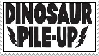 Dinosaur Pile-Up Stamp by RedFox199
