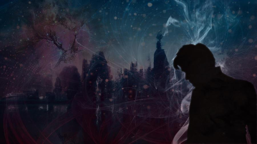 Through Crimson Stars by falconflight13