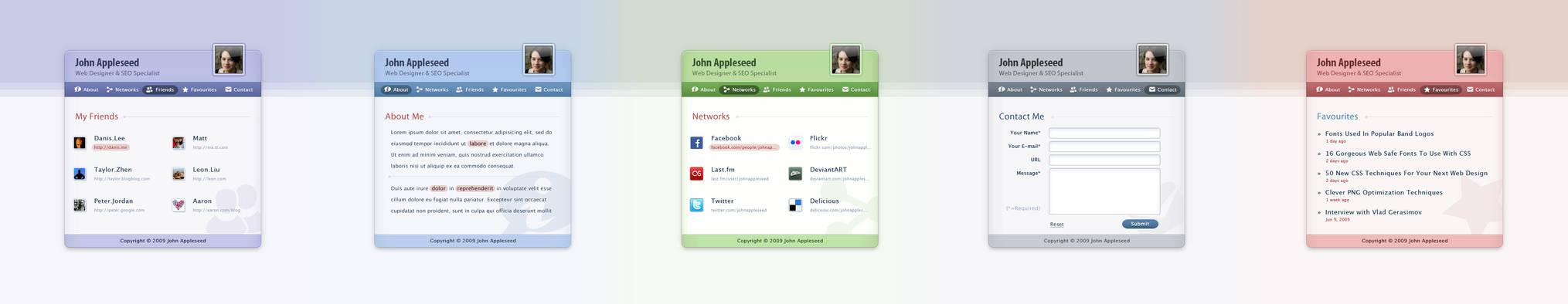 ID Page Web Design