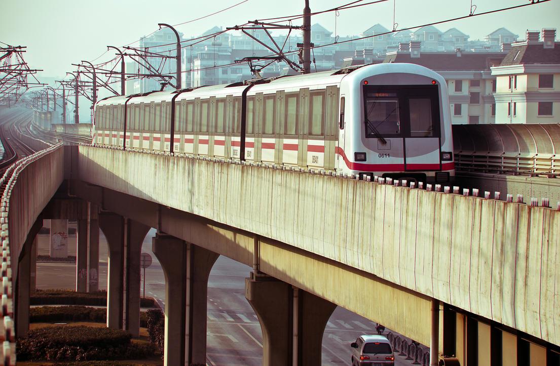 Metros in Shanghai by JJ-Ying
