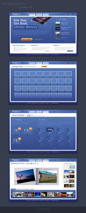 Photobook Website Design