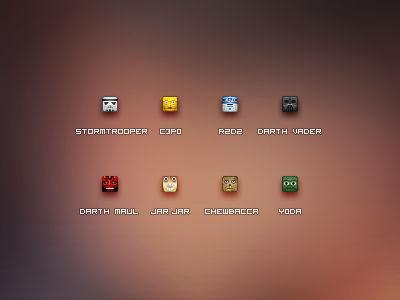 16px StarWars Icons