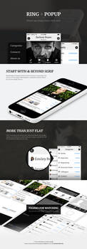 Ring and Popup App Design by JJ-Ying