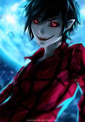 Demon Eyes by xaelyie