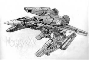 Robotech Guardian VF-1S by MoggyxXx
