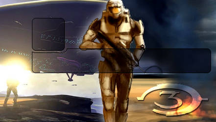 Halo 3 PSP Wallpaper by Shifty-Swifty