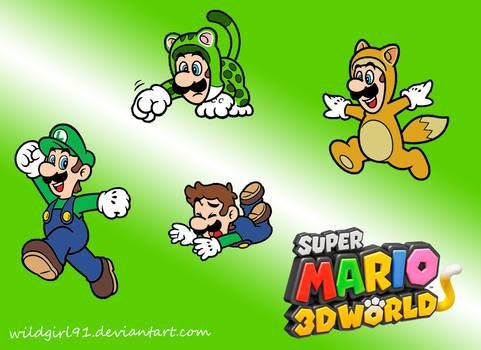 Super Mario 3D World - Luigi Wallpaper