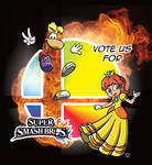 Rayman and Daisy for Smash!