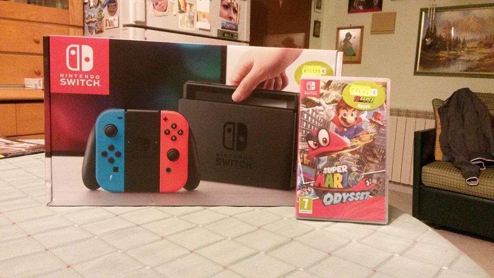 Nintendo Switch and Super Mario Odyssey! by WildGirl91
