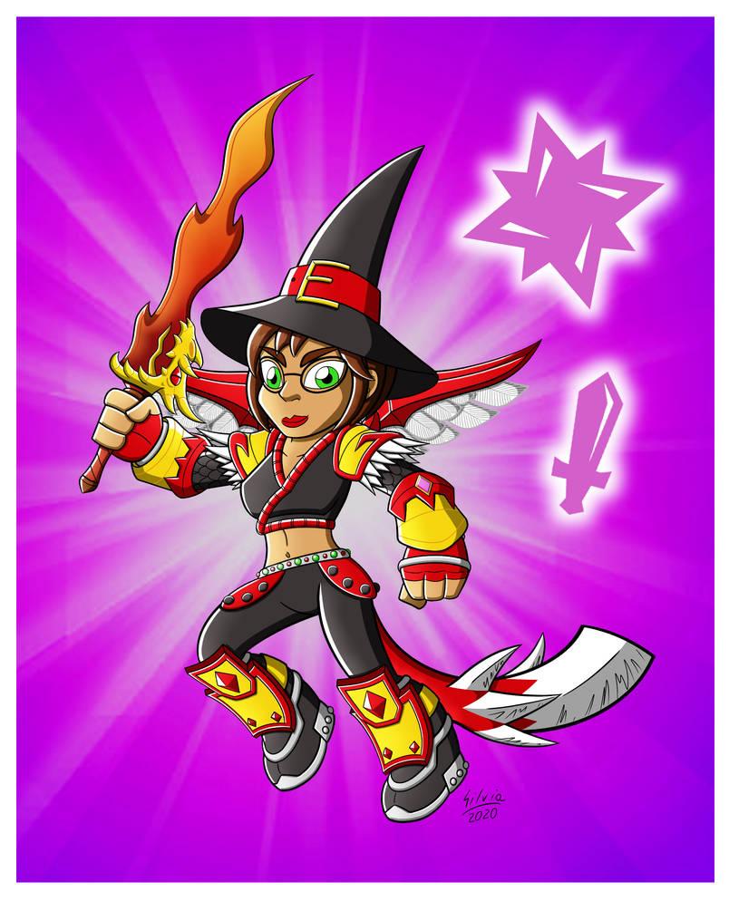 Sylvia, the Magic Knight