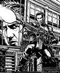 INKTOBER DAY 2 - JON BERNTHAL'S PUNISHER