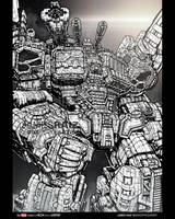 MOST DETAILED DRAWING EVER (i think) OF METROPLEX! by boxofficeartist