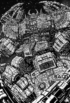 MOST DETAILED DRAWING EVER of UNICRON