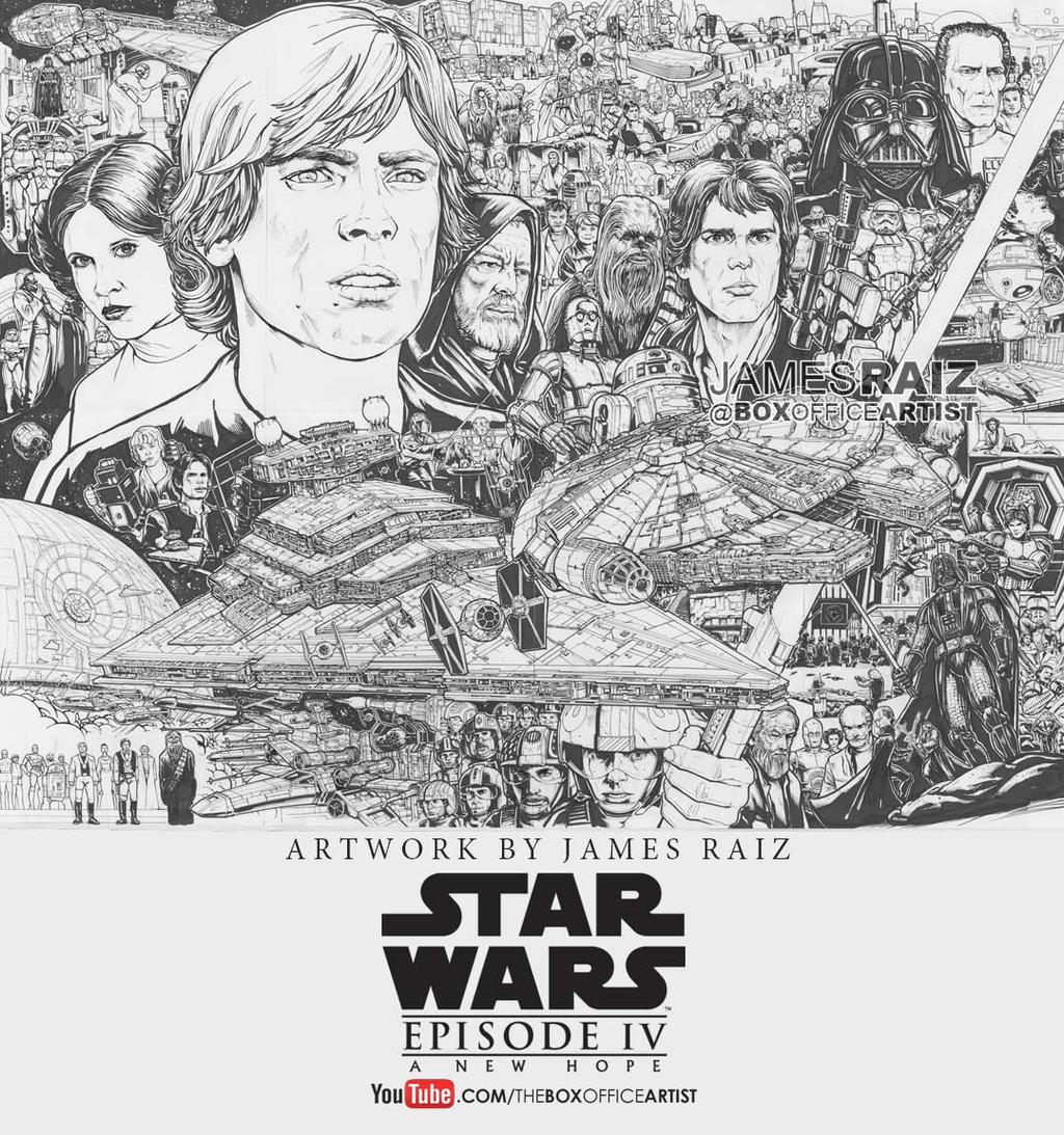 STAR WARS: A NEW HOPE TRIBUTE