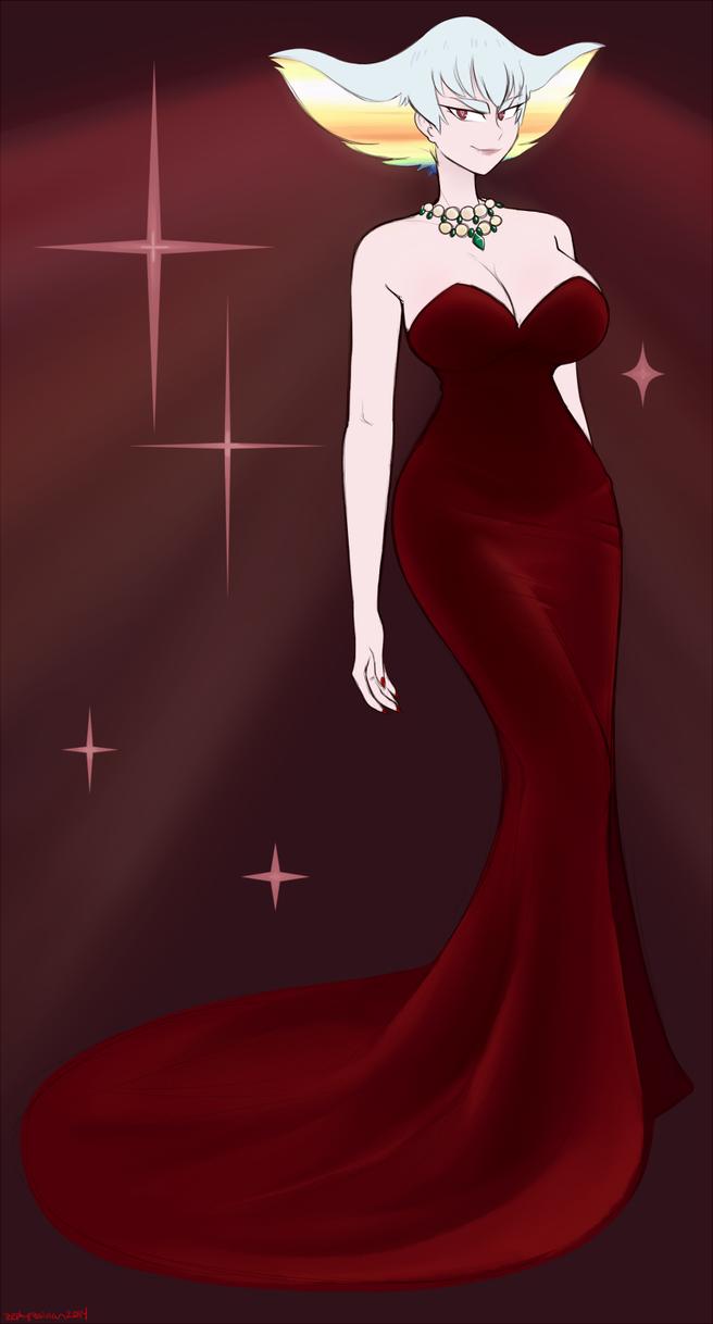 Red Dress by deity-of-destruction