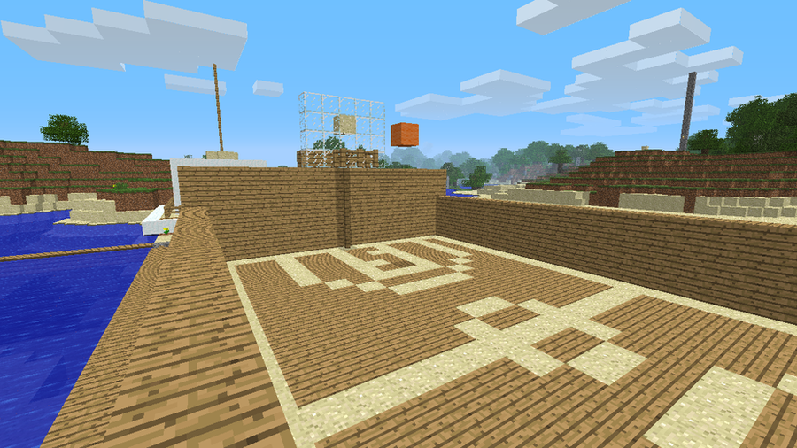 minecraft basketball court by skaterd00d on DeviantArt