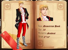OUaHS: Captain Hook by EbonknightsKid