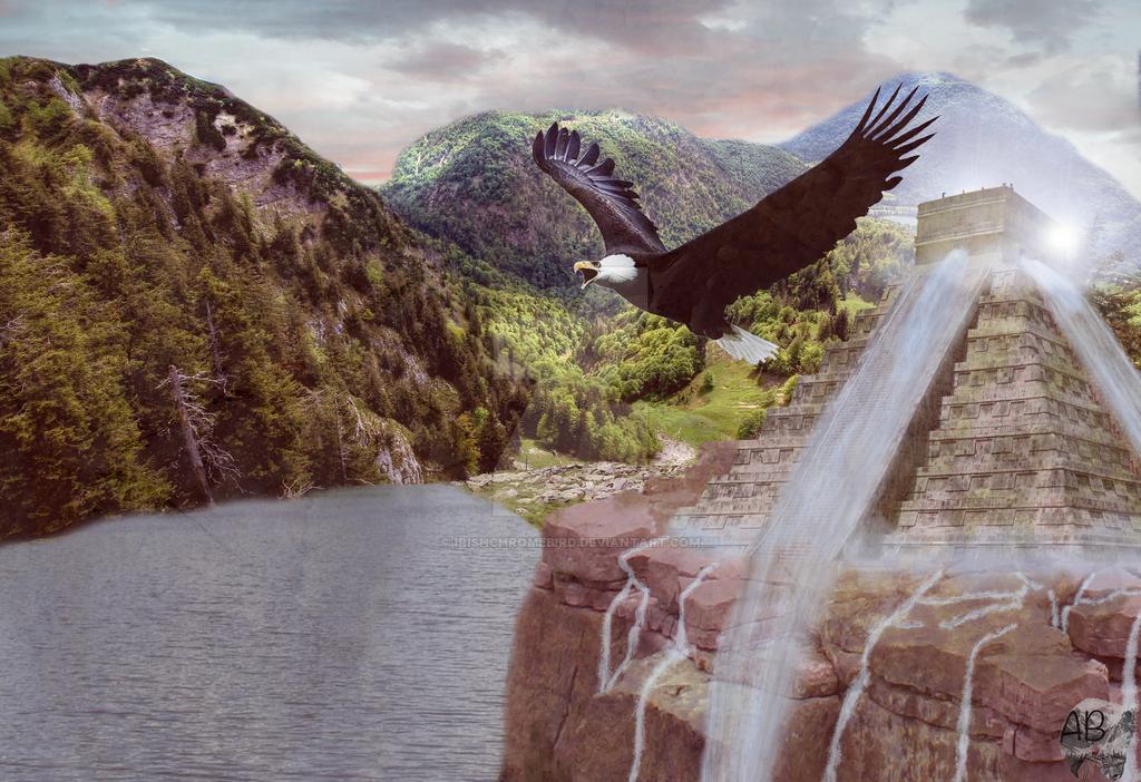 Mayan Eagle by irishchromebird