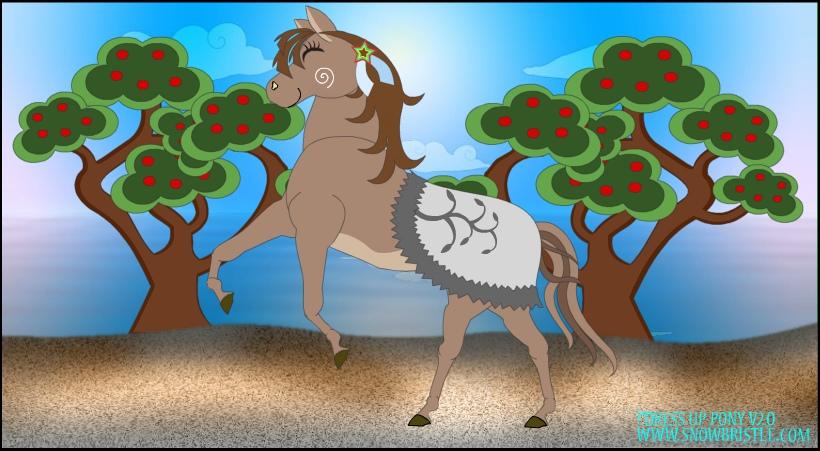 Dress Up Pony V2 Pose by Snowbristle