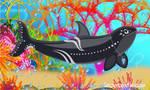 Snowbristle Orca Art by Snowbristle