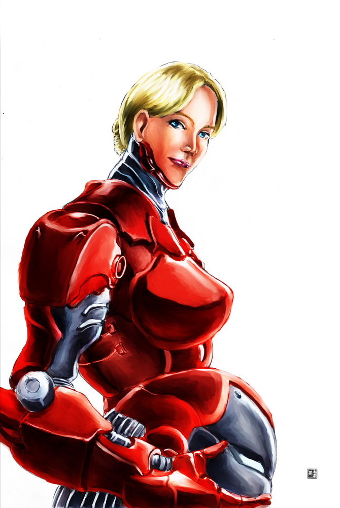 pepper potts rescue color by cric