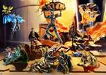 galaxy city after battle