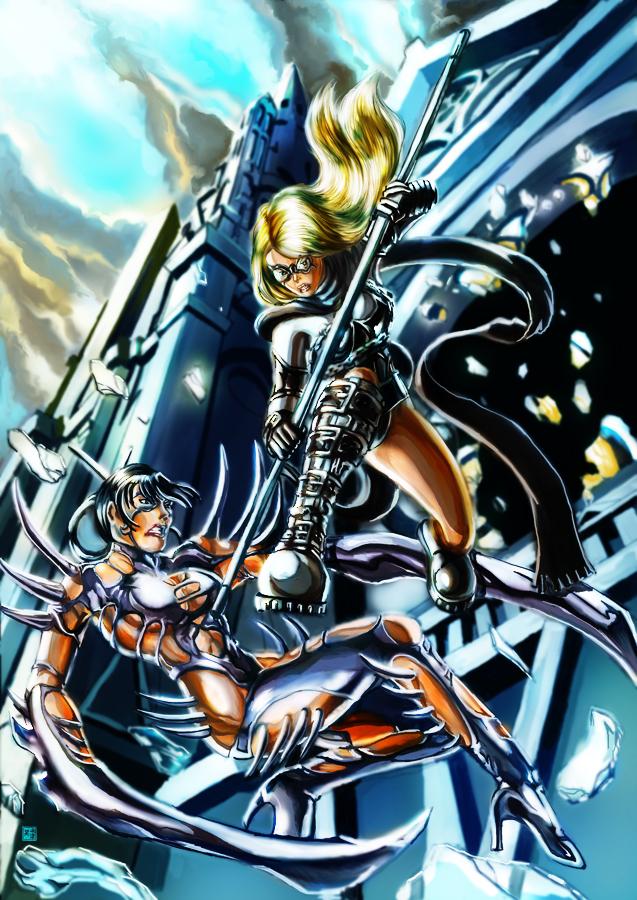 BrandX vs Silver Mantis color by cric