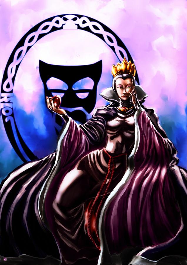 Disney Evil Queen by cric on DeviantArtDisney Evil Queen Art