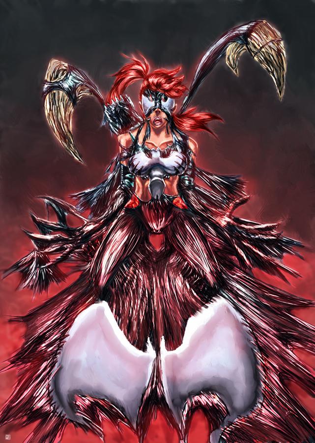 Sonya Savage Symbiote by cric