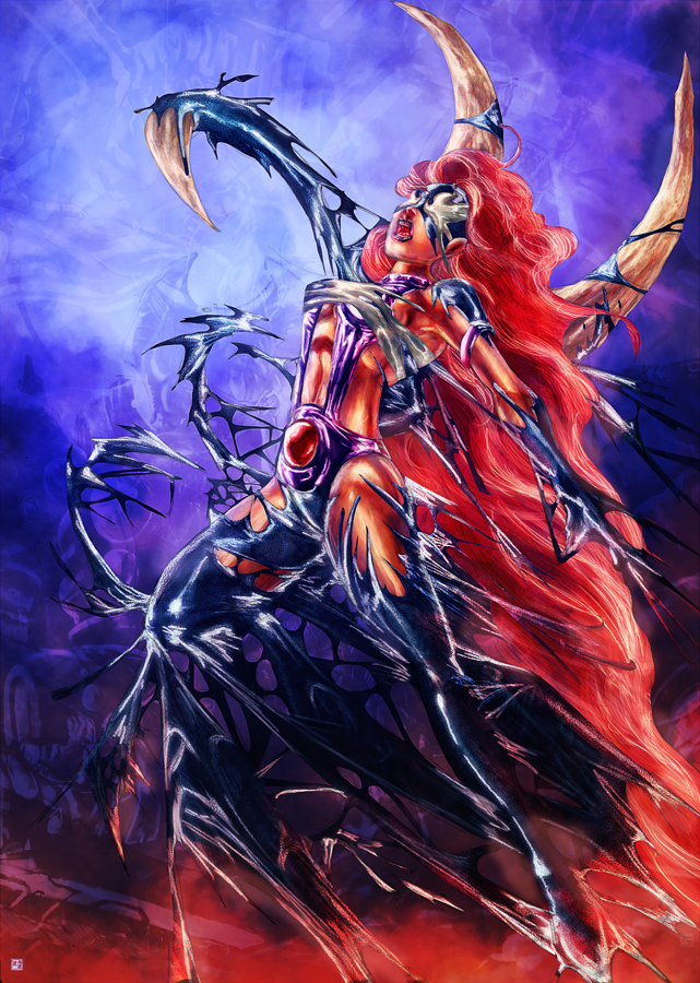Starfire symbiote by cric