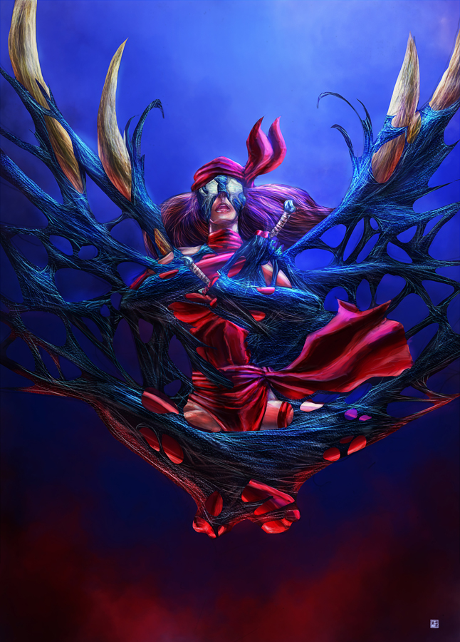 Elektra Symbiote by cric on DeviantArt