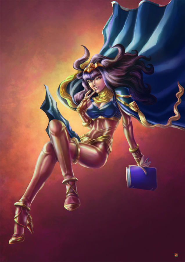 Tharja by cric