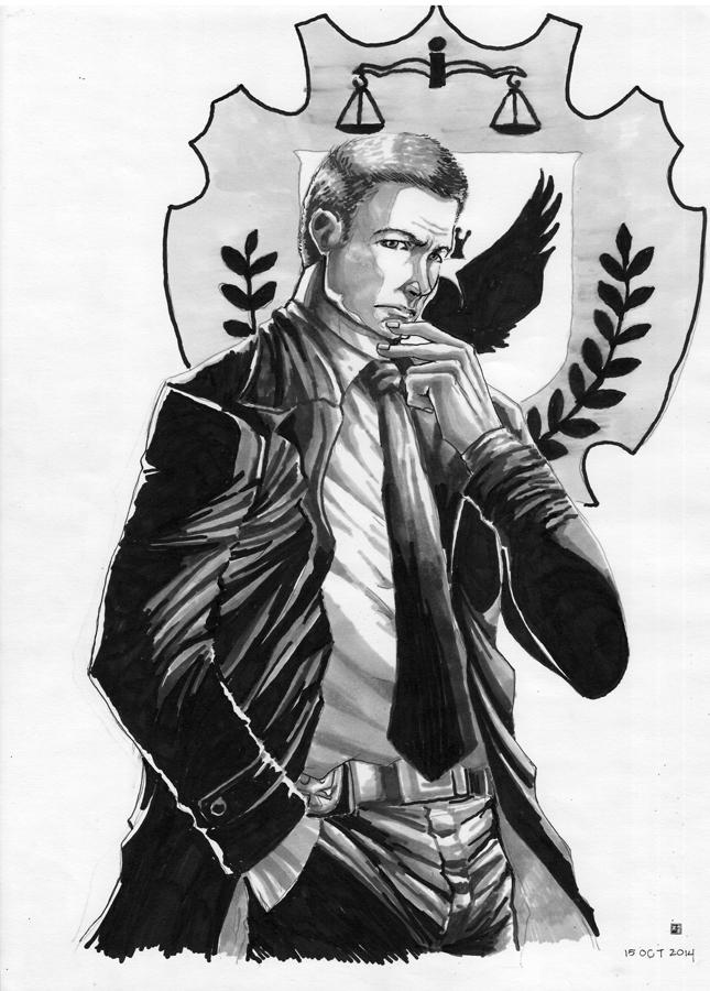 Detective Gordon by cric