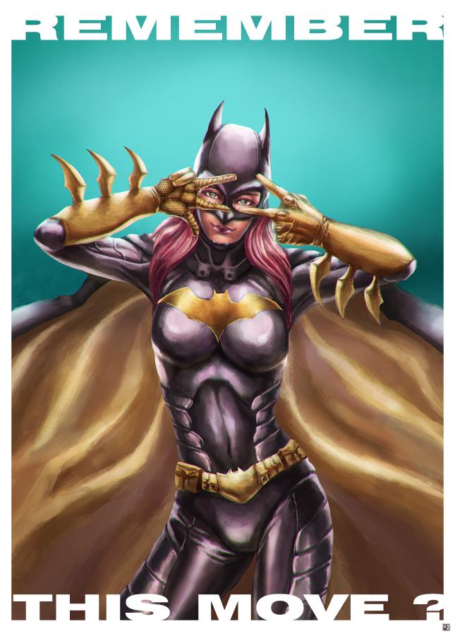 Batgirl by cric