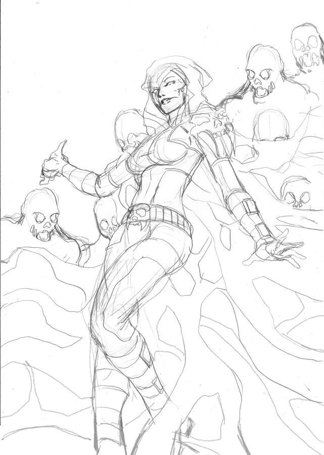 Zombette WIP by cric