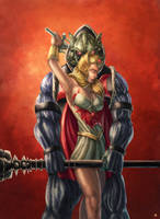 Hordak She-ra by cric
