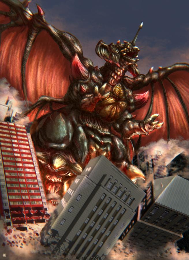 Destroyah by cric on DeviantArt - 648.5KB
