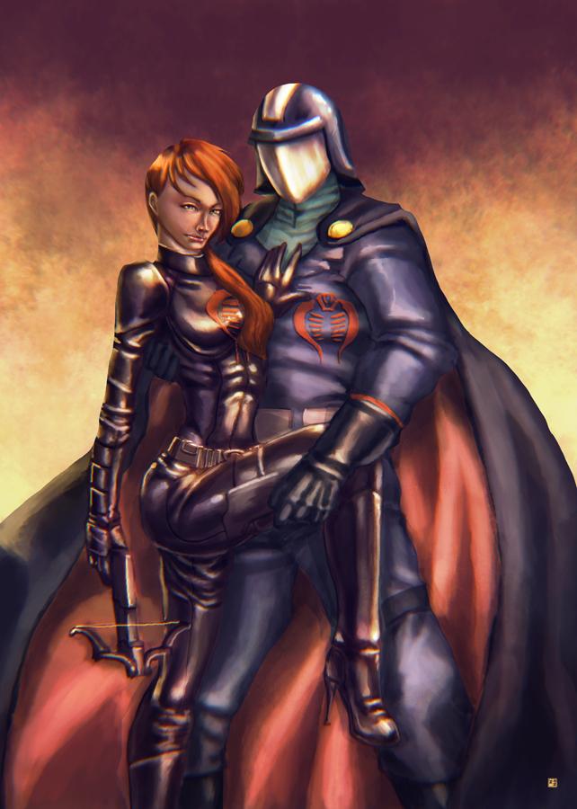 Scarlett Cobra Commander by cric on DeviantArt