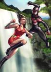 Spider Man Vs Wondergirl
