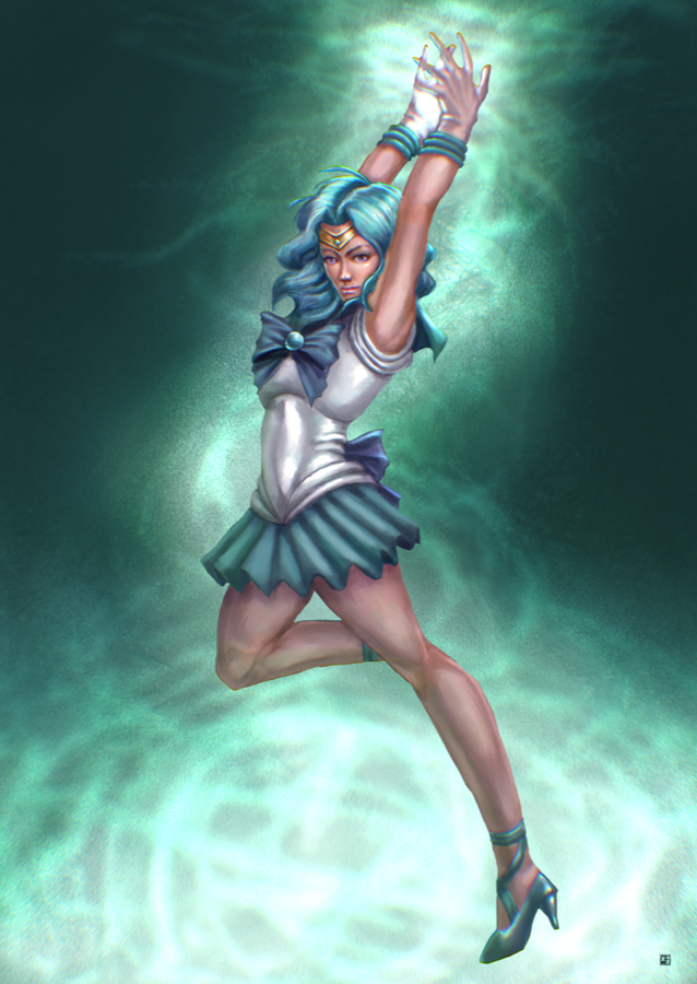 Sailor Neptune by cric