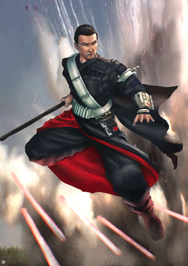 Rogue One Chirrut by cric