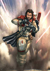 Rogue One Baze by cric