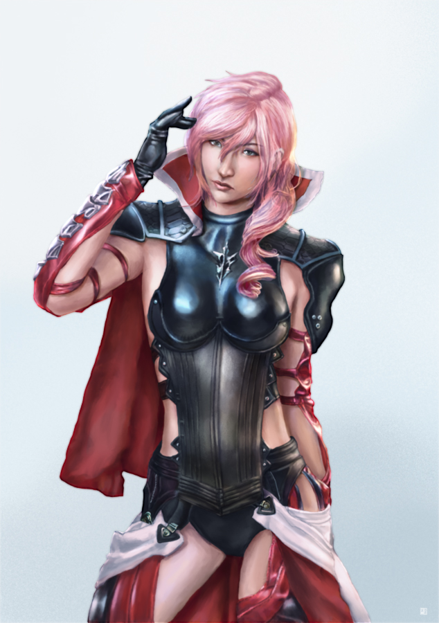 Lightning Farron Final Fantasy XIII by cric