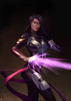 Psylocke X Force ver by cric