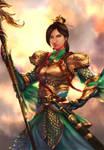 Oriental Armor Girl