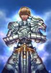 Saber heavy armor