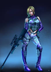 Nina Williams by cric