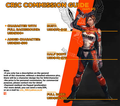 Commission Guide by cric