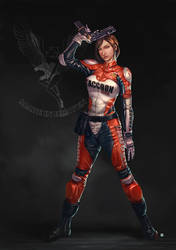 Claire Redfield Elza Walker Suit by cric